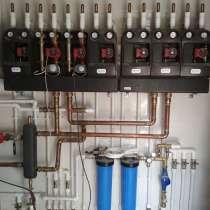 Профессиональный монтаж отопления, водоснабжения, Электрики, в Подольске