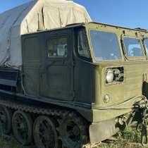 Гусеничный тягач АТС 59Г, в Майкопе