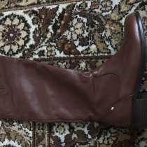 Новые кожаные демисезонные сапоги 38 размер, в Кандалакше
