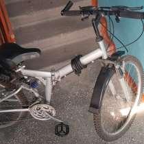Продаю велосипед. Корейский, складной, 26 колеса, двухподвес, в г.Бишкек