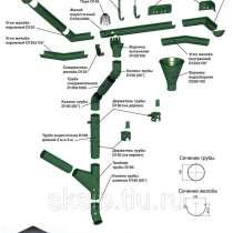 Металлическая водосточная система, в Чите