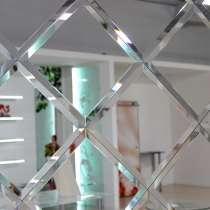 Зеркальное панно, оригинальные зеркала с фацетом, в г.Брест