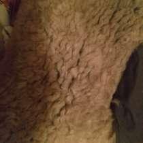 Куртка нагольнаялетчика ссср. куртка крытая тканью овчина, в Чите