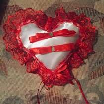 Свадебная подушечка для колец, в г.Ольпе