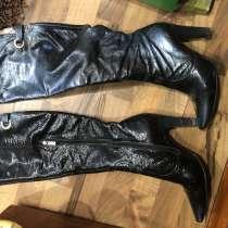 Продам кованные ботфорты весна - осень 37- размер, в Сатке