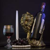 Подставка для вина, лев'', в Москве