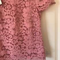 Новая блузка кружевная розовая Talbots (USA), в Москве