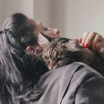 Ласковая кошечка Бусинка мечтает о семье, в Москве