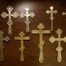 Коллекция из 10-ти старинных напрестольных крестов, в Санкт-Петербурге