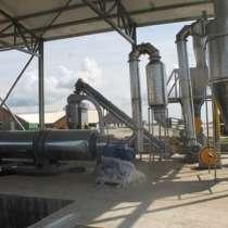 Линия по утилизации птичьего помета и производства удобрения, в Челябинске