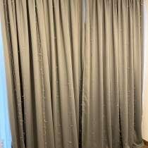 Новые готовые серые шторы Blackwood, в г.Тбилиси