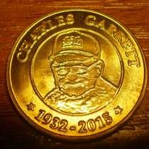 Юбилейный жетон фирмы металлоискателей Garrett, в Владимире