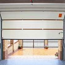Автоматические секционные ворота, в Братске