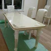 Столы и стулья из натурального дерева, в Москве