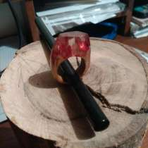 Кольца из дерева и ювелирной смолы, в г.Николаев