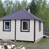Продам мобильный домик 29м2. Не требует фундамента, в Красноярске
