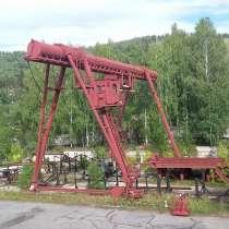 Кран МККС-125, в Миассе