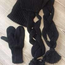 Комплект шарф+варежки, в Нижнем Новгороде