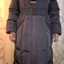 Продается НОВОЕ Пуховое пальто с поясом и с капюшоном, в Уфе