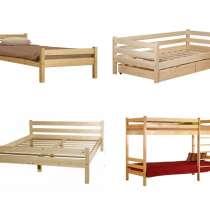 Деревянные кровати из массива сосны, в Томске
