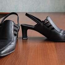 Продам черные босоножки из натуральной кожи фирма Рейкер, в Екатеринбурге