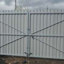 Ворота распашные без калитки под ключ 3 на 1,8 метра, в г.Лондон