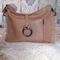 Натуральная кожаная сумка из Италии, в Москве