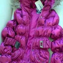 Куртка пуховик осень-зима новая 140-146 размер, в Москве