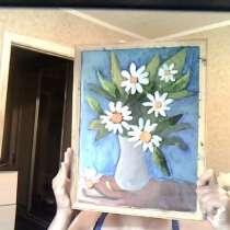 Натюрморт ромашки, в Морозовске