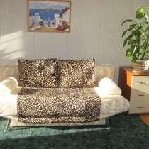 Диван-кровать, евро-софа, в меховой обивке, в Санкт-Петербурге
