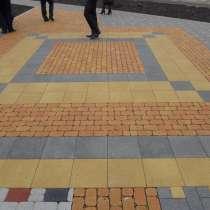 Брусчатка, тротуарная плитка, бордюры, в Воскресенске