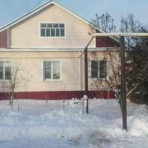 Дом с баней и гаражом, в Чебоксарах