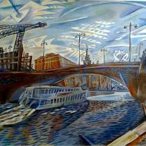 Картина Москва (графика), в Саратове