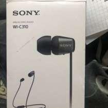 Наушники беспроводные Sony wl-c310, в Щербинке