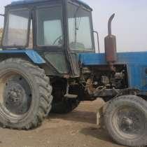 Продается трактор МТЗ-80 в хорошем состояний. +тележка + ба, в г.Жетысай