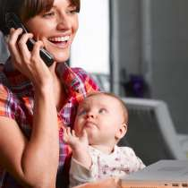 Работа на дому для мамочек в декрете, домохозяек, студентов, в Москве