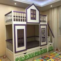Кровать комбинированная для детей и подростков, в Новосибирске
