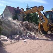 Слом (демонтаж, снос) домов, зданий и сооружений, в Краснодаре