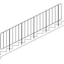 Изготовление и монтаж стальных ограждений лестниц, в Перми