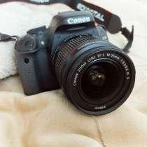 Canon 600D зеркальный фотоаппарат, в Новокубанске