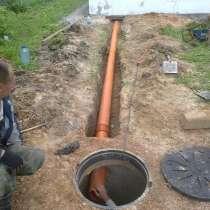 Копка колодцев, чистка канализаций, установка труб, в Иванове