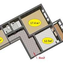 Продам 2 комнатную квартиру, в Калининграде