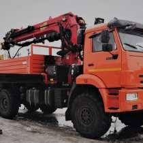 КАМАЗ 43118 с манипулятором PALFINGER ИТ-200 + БУР + Люлька, в Москве