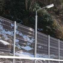 Еврозабор 3Д забор Цинк 1730х2500х3 мм, в Краснодаре