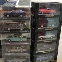 Коллекционные модели машин 1:43, в Москве