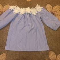 Блуза со спущенными рукавами, в Краснодаре