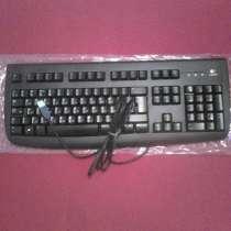 Клавиатура Logitech De Luxe 250 Black USB, в Санкт-Петербурге