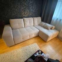 Угловой диван-кровать с правым углом, в Москве