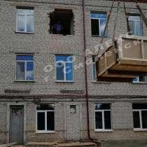 Высотный такелаж, подача груза в окно, на крышу, в Смоленске