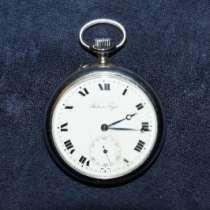 Карманные часы Павелъ Буре. Россия, 1918 Павелъ Буре, в Санкт-Петербурге